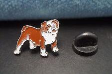 BULLDOG Dog Metal Tie Tac Hat Pin