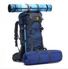 Free Knight SA008 60L Outdoor Waterproof Hiking Camping Backpack Dark Blue