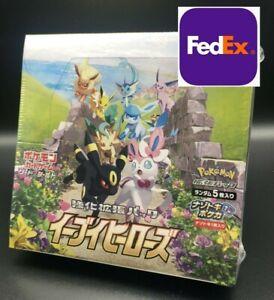 NEW POKEMON CARD JAPAN Eevee Heroes SWORD & SHIELD BOOSTER