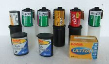 9 x expired 35 mm films