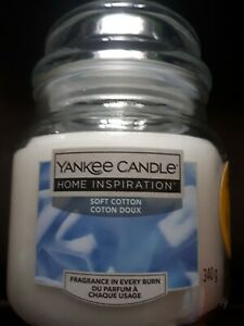 340g Yankee Candle (Soft Cotton)