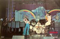 The Who Rare On Stage 1976 Vintage Rainbow Poster 23 x 35