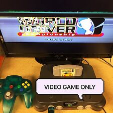 World Driver: Championship (Nintendo 64, 1999) PLAYED/TESTED GAME PAK ONLY!