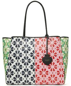 NWT Kate Spade Everything Spade Flower Extra Large Tote Multi