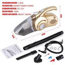 12V 100W portable Wet aspirateur voiture rechargeable /pompe à air fonction sw