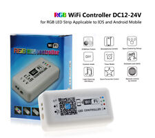 LED Wifi Controller Timer Music RGB Strip Light 12-24V by iOS iPhone Android APP