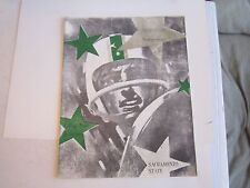 1963 CHICO STATE (CSU) VS SACRAMENTO STATE COLLEGE FOOTBALL PROGRAM - TUB BN-16