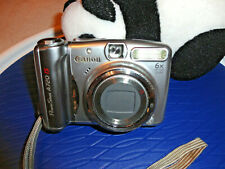 Canon PowerShot A720is Silver Digital Camera - 8MP