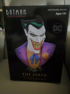 Legends in 3D Batman: The Animated Series Joker 1:2 Scale Bust BRAND NEW*