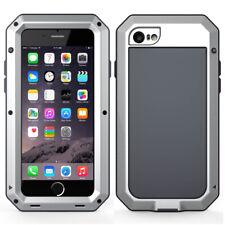 iPhone 6 7 8 11 X XS Max XR Metal Case Cover Waterproof Shockproof Gorilla Glass