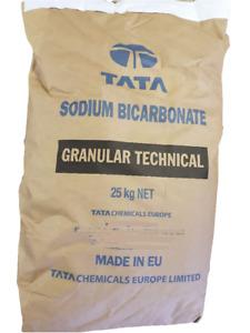 SODIUM BICARBONATE OF SODA 25KG BAG - ABRASIVE BLASTING MEDIA - MEDIUM GRADE