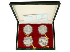 China - Silver 5 Yuan Coins - In Box With COA - 1987 - Proof