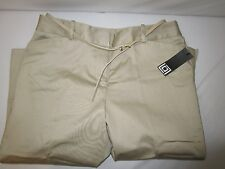 LIZ CLAIRBORNE KHAKI Belt crop pants  size 6New with tag