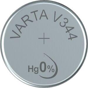 V344 Uhrenbatterie Knopfzelle = SR1136SW SR42SW VARTA