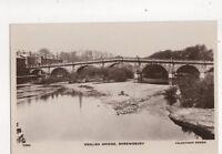 English Bridge Shrewsbury Vintage RP Postcard 450b