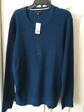 NWT Banana Republic men's 1/2 button sweater sz XL Retail $79.50