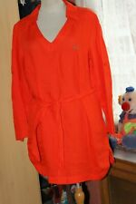 SCAPA Sport   Superbe  tunique en lin  beaux coloris orange   Taille 42   +++