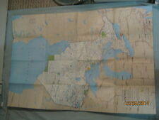 CANADA ONTARIO MAP National Geographic December 1978