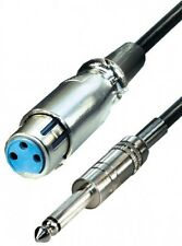 5m transmedia premium mikrofonkabel cannonbuchse xlr an 6,3mm klinke symetrisch