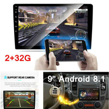 Android 8.1 Quad Core Car Stereo GPS 9'' RAM 2G Touch Screen Player WIFI Radio