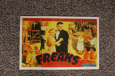 Freaks Lobby Card Movie Poster