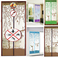 Mesh Insect Fly Bug Anti Mosquito Door Curtain Net Netting Mesh Screen Magnets