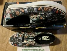 NEW VANS AUTHENTIC STAR WARS COLLAGE LOW TOP LACED (UNISEX M 10/ W 11.5) OOP