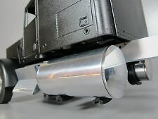Pair Aluminum 4 inch Fuel Gas Tanks Tamiya RC 1/14 Semi King Grand Knight Hauler
