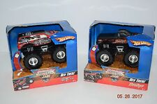 Hot Wheels Monster Jam Lot **Iron Outlaw & The Broker**, 2006, Age 3+, Boy, NEW