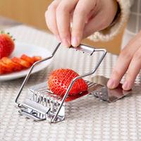 Egg Sausage Slicer Fruit Food Cutter Multi-purpose Lightweight Kitchen Home