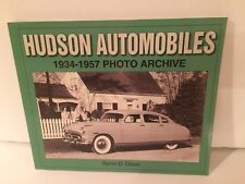 Great Coffee Table Book On Hudson Automobiles 1934-1957 Photo Archive