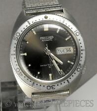 SEIKO Automatic 6106-8100 - 17j. Day/Date Stainless c.1968