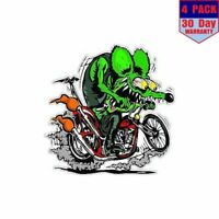 Rat Fink 2 4 Stickers 4X4 Inch Sticker Decal