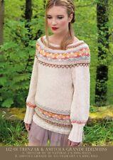 Louisa Harding L1201 Trenzar and Amitola Grande yarn - Single Pattern