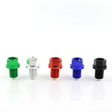 Tusk Magnetic Oil Drain Plug Screw Bolt Fit For Kawasaki ZXR 750 ZXR 750R Black