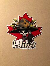 Blind Canadian Mountie Kevin Harris Sticker ,Skateboard