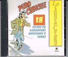 Puro Cubiche 18  Exitos  en Guarachas Montunos y Sones  BRAND NEW SEALED   CD