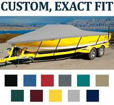 7OZ CUSTOM FIT BOAT COVER SCOUT 205 DORADO W/ BOW RAIL 2004-2008