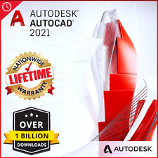 Autodesk Autocad 2021 For win l Lifetime license l Full version
