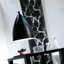 Pendelleuchte E27 Eisen Modern Schlicht schwarz weiss