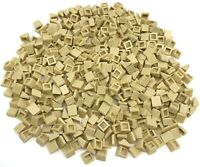 Lego 500 New Tan Slope 30 1 x 1 x 2/3 Sloped Pieces