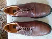 Timberland Oxford  WATERPROOF  BROWN Shoes hiking Size 9 Leather