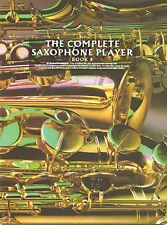 The Complete Saxophone Player Book 4 New 014007394