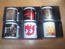 lot 6 Mug Tasse Cafe - dragon ball z pacman walking dead harry potter neuf