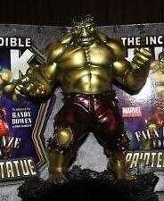 SIGNED BY R. BOWEN DESIGNS Incredible HULK RETRO STATUE FAUX BRONZE MIB SIDESHOW