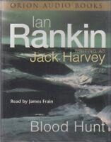 Blood Hunt Ian Rankin Jack Harvey 4 Cassette Audio Book NEW* Abridged Rebus