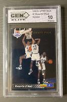 1992-93 Upper Deck Shaquille O'Neal Rookie #1 Card  10 Pristine RC Shaq