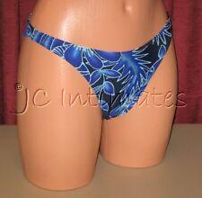 Junior's Charmante French Cut Swimsuit Bikini Bottom-Blue(XS)