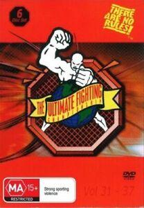 Ultimate Fighting Championship Volume 31-37 - UFC DVD Brand New & Sealed