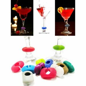 Home Tag Cup Labels Signs Red Wine Glass Marker Charm Creative Silicone